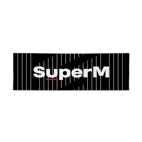 SUPERM - FABRIC SLOGAN