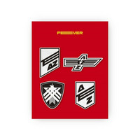ATEEZ -  ZERO: FEVER PART.1 - WAPPEN BADGE SET (A TYPE)