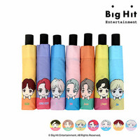 BTS CHARACTER - MEMBER FOLDING UMBRELLA