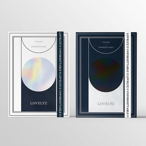 LOVELYZ - UNFORGETTABLE (7TH MINI ALBUM)