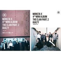 MONSTA X - THE CLAN 2.5 PART.2 GUILTY (4TH MINI ALBUM)
