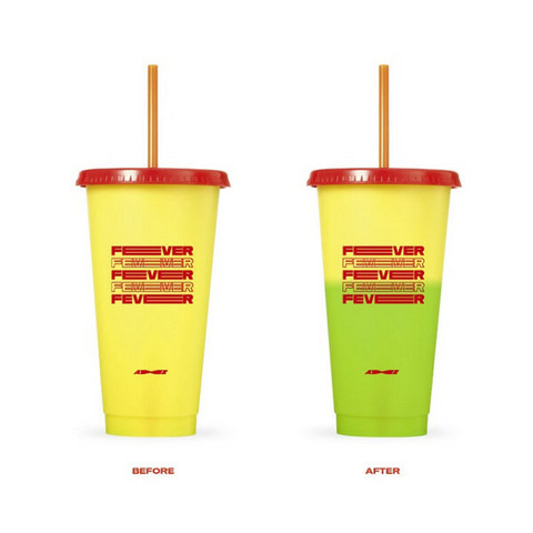 ATEEZ - ZERO : FEVER PART.1 - COLOR CHANGE REUSABLE TUMBLER