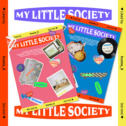 FROMIS_9 - MY LITTLE SOCIETY (3RD MINI ALBUM)