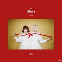 BOLBBALGAN4 - RED DIARY PAGE.1 (2ND MINI ALBUM)