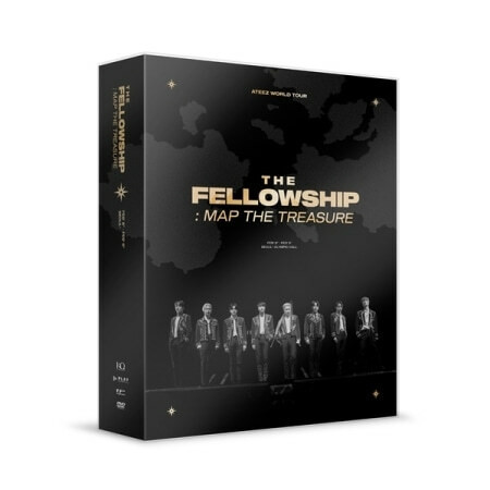 ATEEZ - WORLD TOUR THE FELLOWSHIP: MAP THE TREASURE SEOUL (DVD)