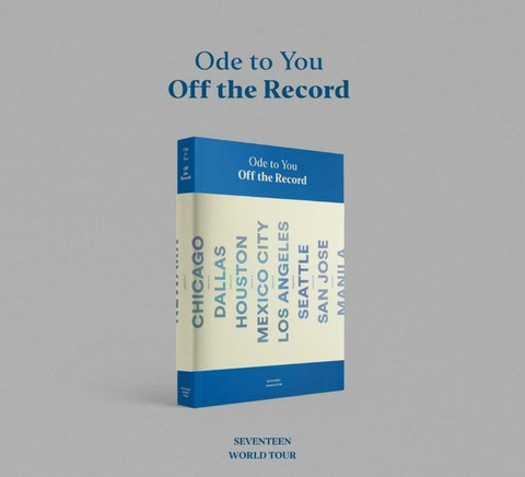 SEVENTEEN - ODE TO YOU, OFF THE RECORDS 2019 WORLD TOUR (PHOTOBOOK)