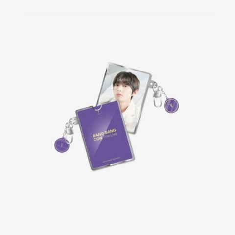 BTS - BANG BANG CON - PHOTO CARD HOLDER KEYRING