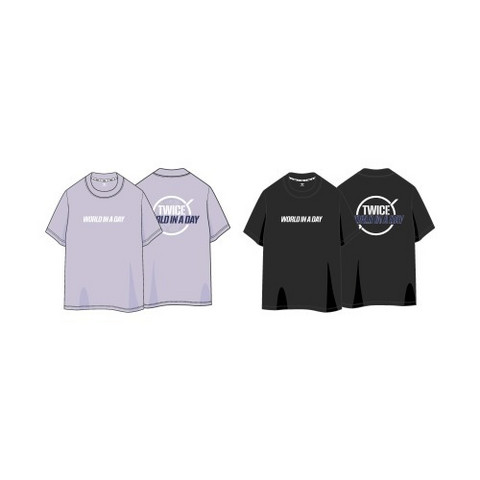TWICE - 2020 WORLD IN A DAY - T-SHIRTS