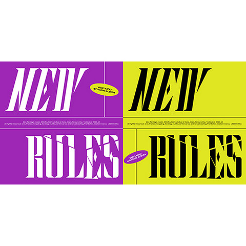 WEKI MEKI - NEW RULES (4TH MINI ALBUM)