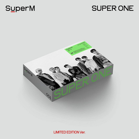 SUPERM - SUPER ONE (1ST ALBUM) ONE VER. - LIMITED EDITION