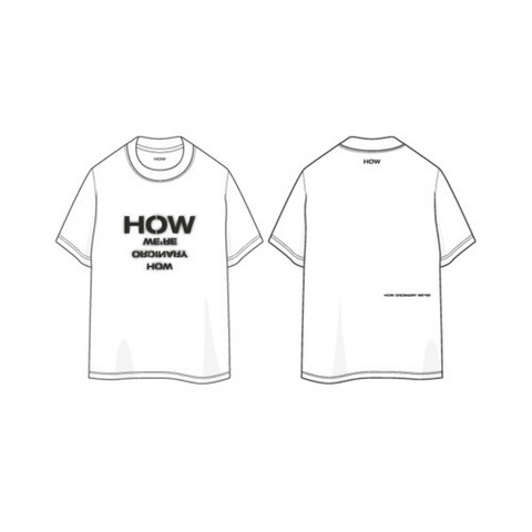 WOODZ - 25TH BIRTHDAY LIMITED MD - HOW T-SHIRT