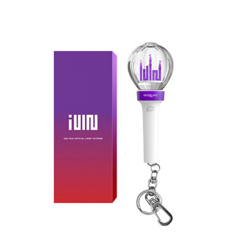 (G)I-DLE - OFFICIAL LIGHT STICK MINI KEY RING