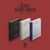 TWICE - EYES WIDE OPEN (2ND ALBUM)