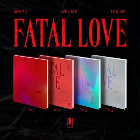 MONSTA X - FATAL LOVE (3RD ALBUM)