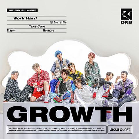 DKB - GROWTH (3RD MINI ALBUM)