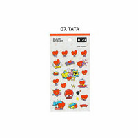 BT21 - CLEAR STICKER - TATA