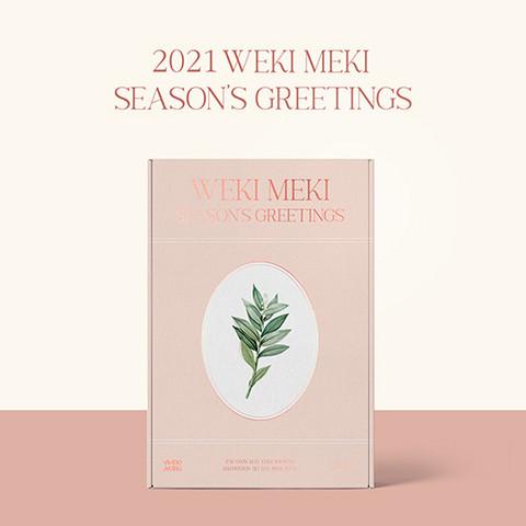 WEKI MEKI - 2021 SEASON'S GREETINGS