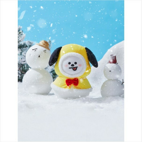 BT21 - 2020 WINTER STANDING DOLL (20CM) - CHIMMY