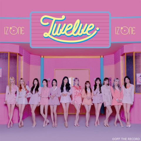 IZ*ONE - TWELVE (CD+DVD / TYPE A)