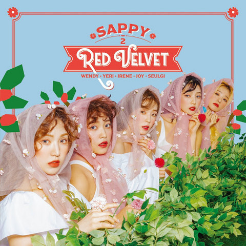 RED VELVET - SAPPY (CD+DVD / REGULAR EDITION)