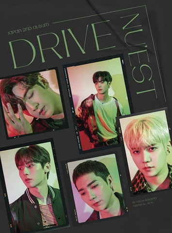 NU'EST - DRIVE (W/ DVD, LIMITED EDITION / TYPE B)