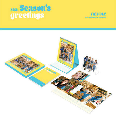 (G)I-DLE - 2021 SEASON'S GREETINGS