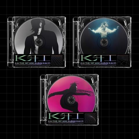 KAI - KAI (开) (1ST MINI ALBUM) JEWEL CASE VER.