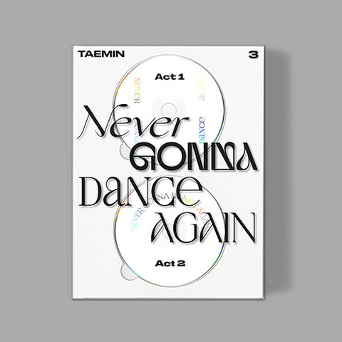 TAEMIN - NEVER GONNA DANCE AGAIN (3RD ALBUM) EXTENDED VER. (2CD)
