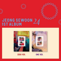 JEONG SE WOON - 24 PART 02 (1ST ALBUM)