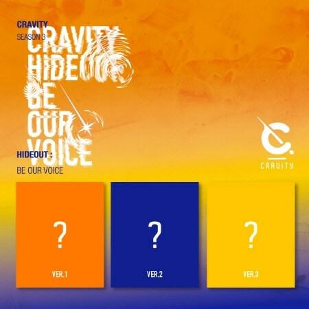 CRAVITY - SEASON 3. HIDEOUT: BE OUR VOICE (ALBUM)