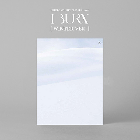 (G)I-DLE - I BURN (4TH MINI ALBUM) WINTER VER.