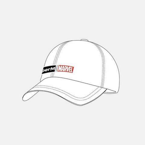 SUPERM X MARVEL - LOGO CAP