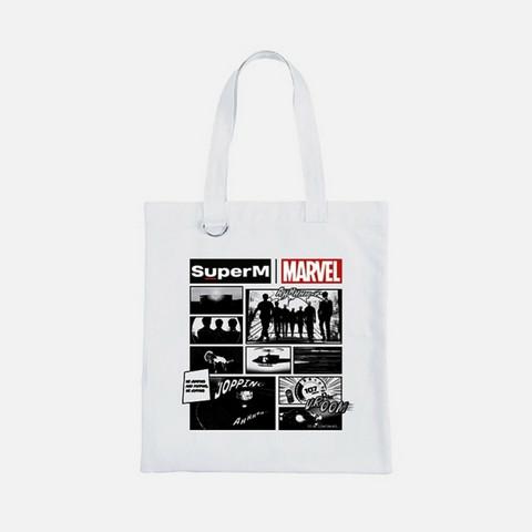 SUPERM X MARVEL - CARTOON ECO BAG