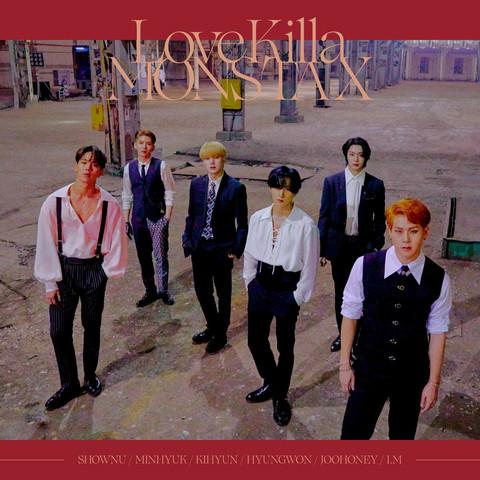 MONSTA X - LOVE KILLA -JAPANESE VER.-  (LIMITED EDITION / TYPE B)