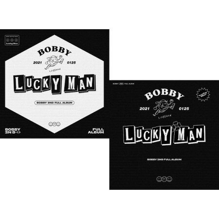 BOBBY - LUCKY MAN (2ND FULL ALBUM)