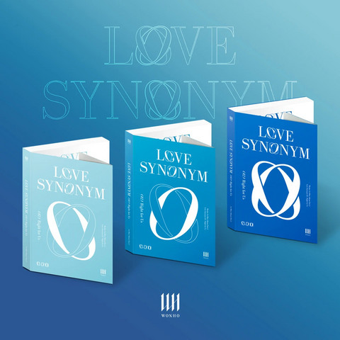 WONHO - LOVE SYNONYM #2 : RIGHT FOR US (1ST MINI ALBUM) PART.2