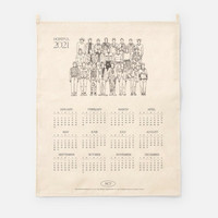 NCT - 2021 CANVAS DRAWING CALENDAR