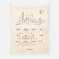 RED VELVET - 2021 CANVAS DRAWING CALENDAR
