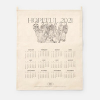 EXO - 2021 CANVAS DRAWING CALENDAR