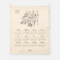 SHINEE - 2021 CANVAS DRAWING CALENDAR