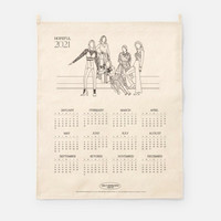 GIRLS' GENERATION-OH!GG - 2021 CANVAS DRAWING CALENDAR