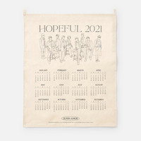 SUPER JUNIOR - 2021 CANVAS DRAWING CALENDAR