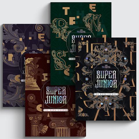 SUPER JUNIOR - THE RENAISSANCE (10TH ALBUM) THE RENAISSANCE STYLE