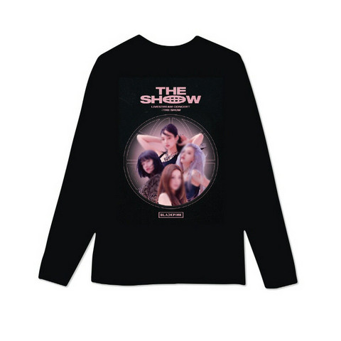 BLACKPINK - THE SHOW - LONG SLEEVE T-SHIRTS TYPE 2