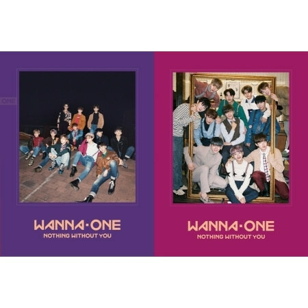 WANNA ONE - 1-1=0 NOTHING WITHOUT YOU (1ST MINI ALBUM PREQUAL REPACKAGE)