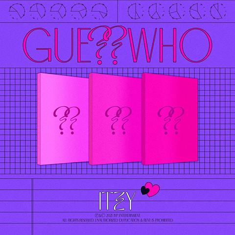 ITZY - GUESS WHO (4TH MINI ALBUM)