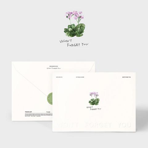 KIM SUNG KYU - WON'T FORGET YOU (SINGLE ALBUM)