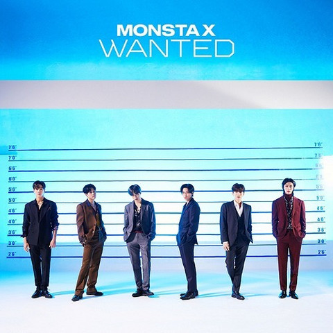 MONSTA X - WANTED (LIMITED EDITION / TYPE B)
