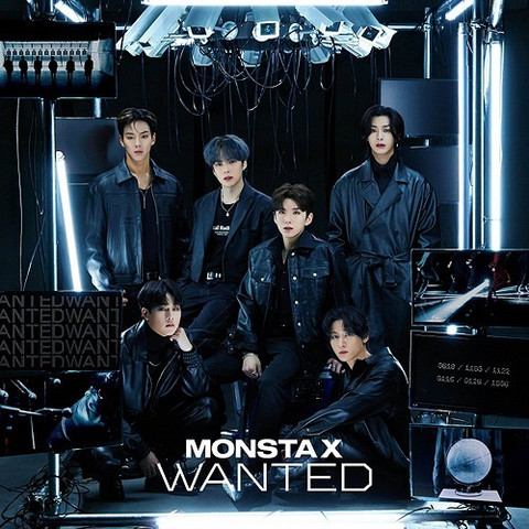MONSTA X - WANTED (REGULAR EDITION / FIRST PRESS)