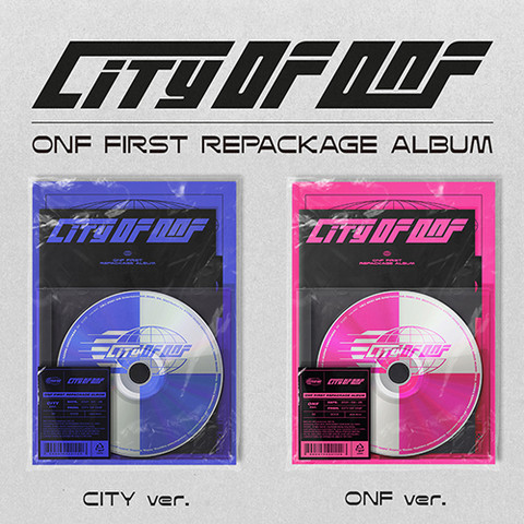 ONF - CITY OF ONF (1ST ALBUM REPACKAGE)